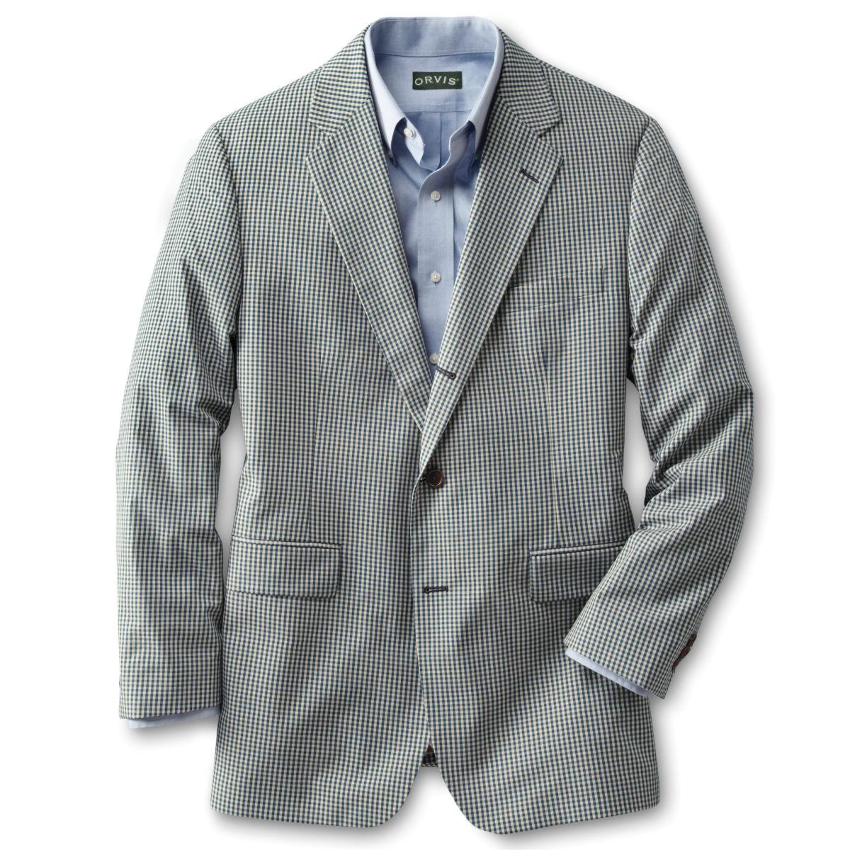 Wrinkle-Free Gingham Sport Coat - Regular - image number 0