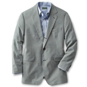 Wrinkle-Free Gingham Sport Coat -