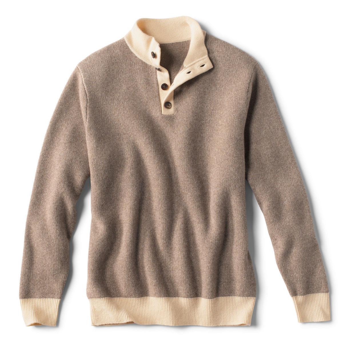 Pure Cashmere Simoom Sweater - CHOCOLATEimage number 0