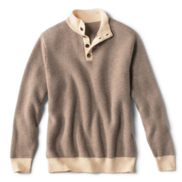 Pure Cashmere Simoom Sweater - CHOCOLATE image number 0