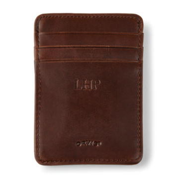 Heritage Leather Money Clip -  image number 1