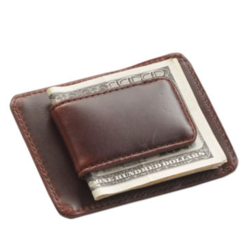 Heritage Leather Money Clip -