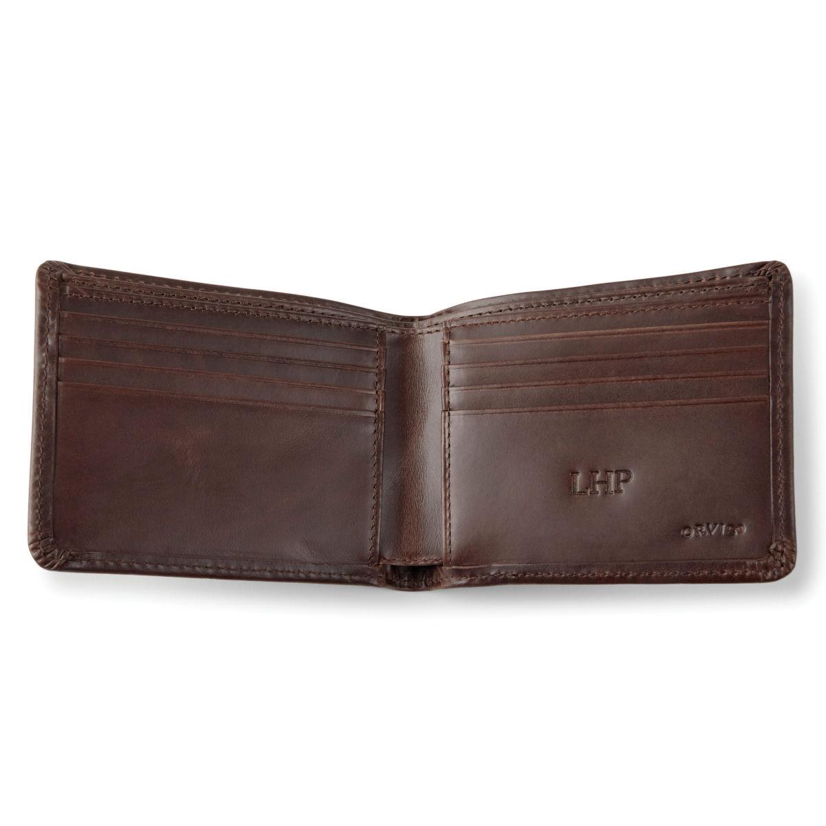 Heritage Leather Wallet - BROWNimage number 0