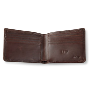 Heritage Leather Wallet - BROWN image number 0