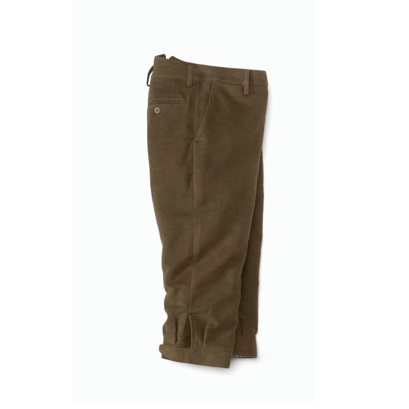 1920s Men's Pants History: Oxford Bags, Plus Four Knickers, Overalls Moleskin Shooting Breeks $249.00 AT vintagedancer.com