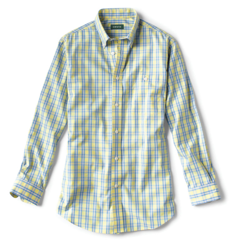 Pure Cotton Wrinkle-Free Pinpoint Oxford Shirt - Regular -  image number 0