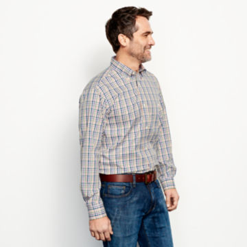 Pure Cotton Wrinkle-Free Pinpoint Oxford Shirt - Regular -  image number 2