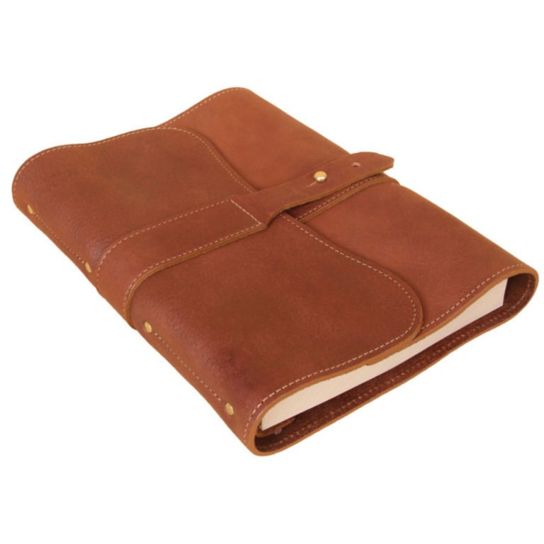 Personalized Genuine Leather Journal / Journal with lined paper -  image number 1
