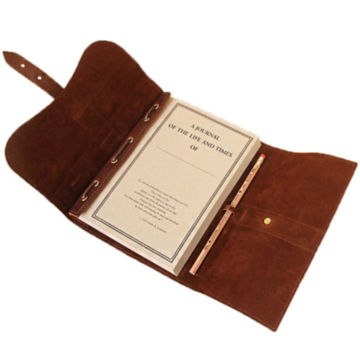 Personalized Genuine Leather Journal / Journal with unlined paper -  image number 3
