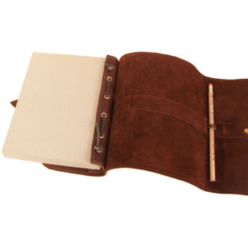 Personalized Genuine Leather Journal / Journal with unlined paper -  image number 4
