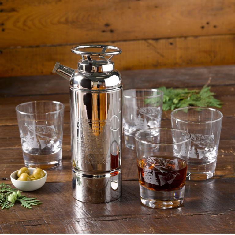 Fire Extinguisher Cocktail Shaker -  image number 0