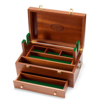 Solid Wood Gunning Box -
