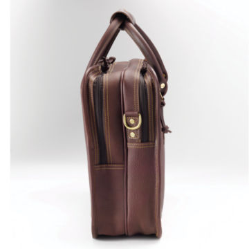 Bullhide™ Leather Extra-Capacity Briefcase -  image number 2