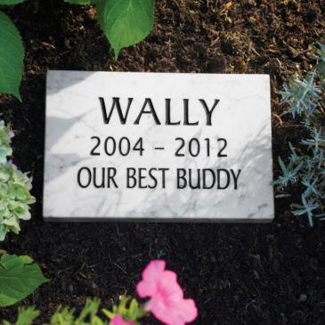 Marble Pet Memorial -
