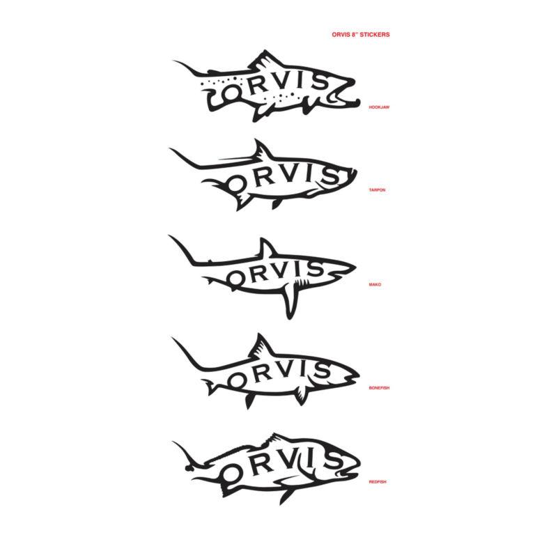 """8"""" Die-Cut Fish Sticker -  image number 0"""