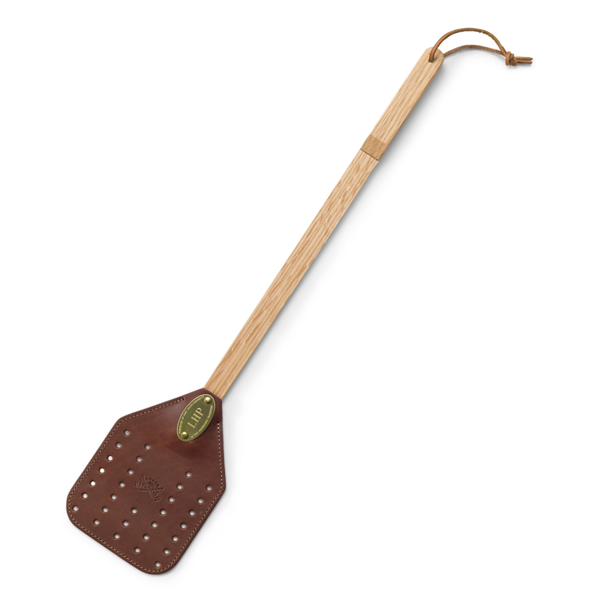 Personalized Leather Fly Swatter - image number 0