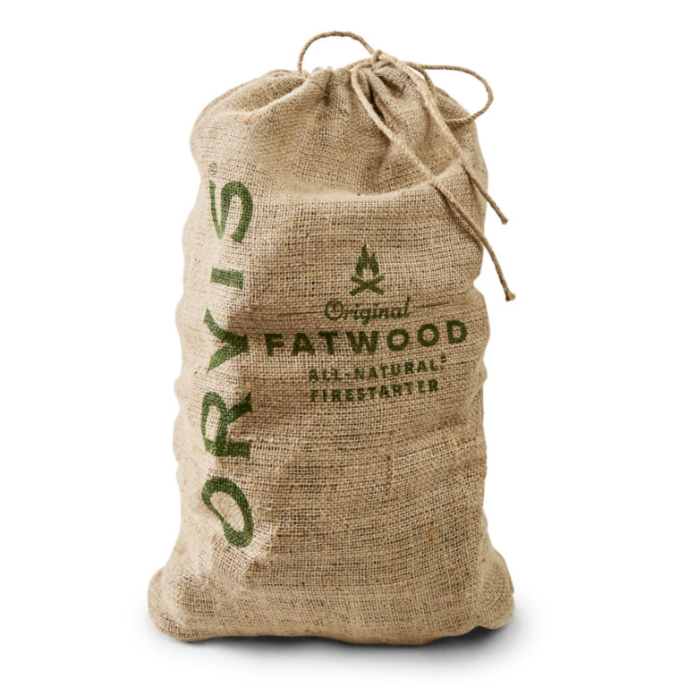 Orvis Fatwood - 15-lb. Burlap Sack -  image number 0