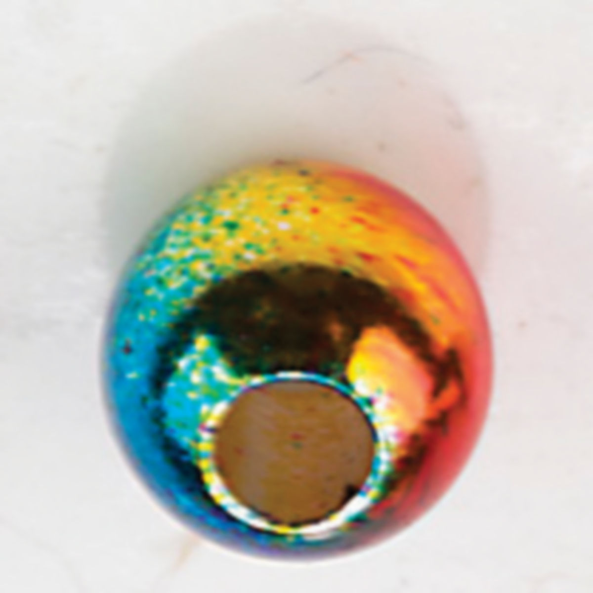 Rainbow Brass Beads - image number 0