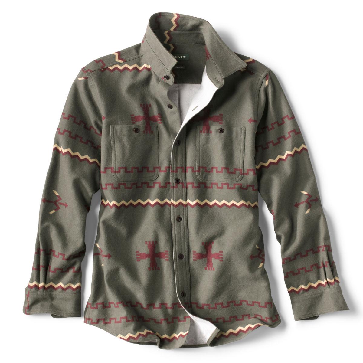 Badlands Long-Sleeved Shirt - OLIVEimage number 0