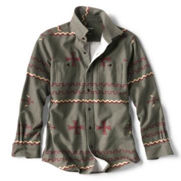 Badlands Long-Sleeved Shirt - OLIVE image number 0