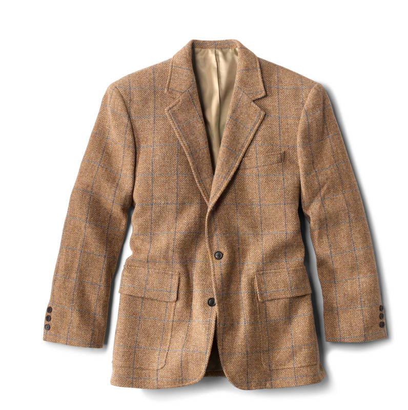 Men's Vintage Clothing | Retro Clothing for Men Lightweight Highland Tweed Sport Coat - Long $299.00 AT vintagedancer.com