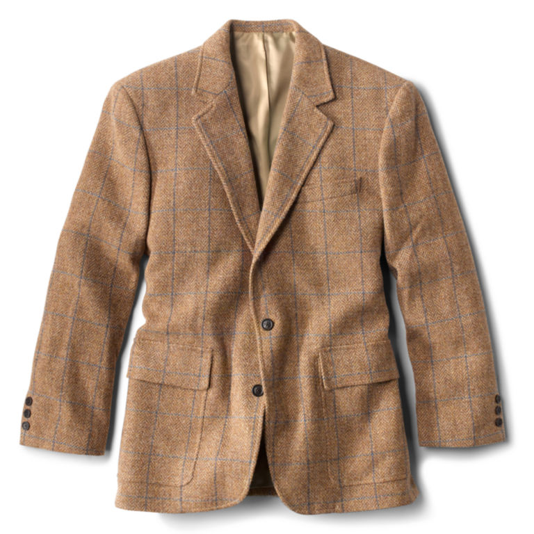 Lightweight Highland Tweed Sport Coat - Regular - CAMEL image number 0