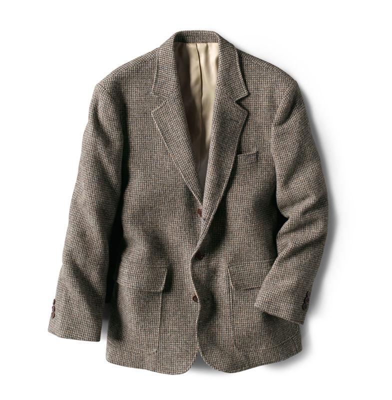 Men's Vintage Clothing | Retro Clothing for Men Lightweight Highland Tweed Sport Coat  Regular GrayTanWhite 40 $398.00 AT vintagedancer.com