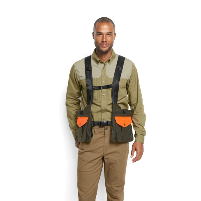 Waxed Cotton Strap Vest -  image number 1