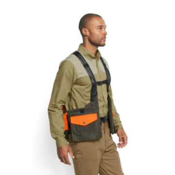 Waxed Cotton Strap Vest -  image number 2