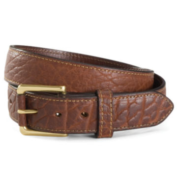 Bison Leather Jeans Belt -  image number 0
