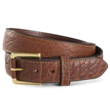 Bison Leather Jeans Belt -