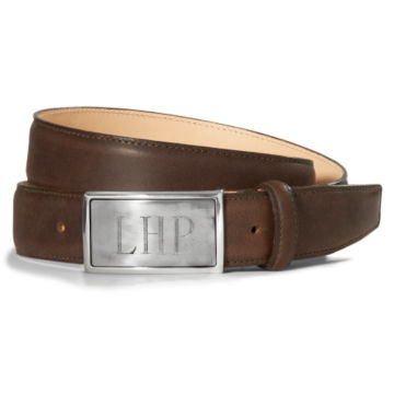 Initial Belt - BROWN image number 0