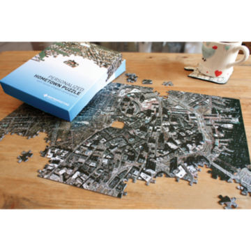 Aerial Hometown Jigsaw Puzzle -  image number 0