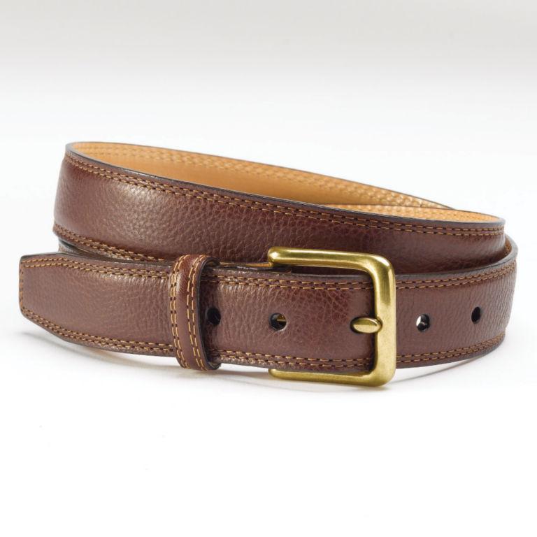 Italian Grain Strap Belt -  image number 0