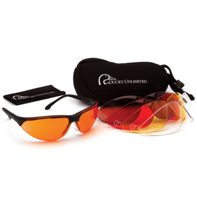 Ducks Unlimited Shooting Glasses -  image number 0