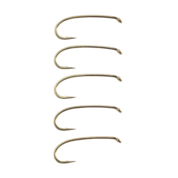 Heavy Wire Curved Nymph Hook - Box of 25 -  image number 0