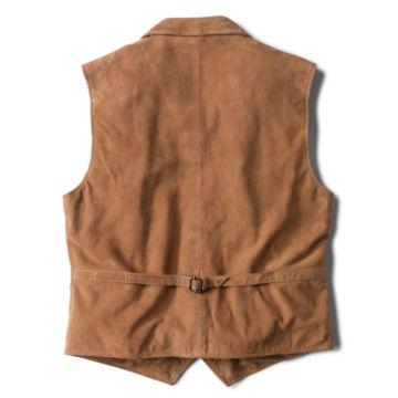 CFO Sueded Lapel Vest - BROWN image number 1
