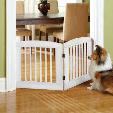 Panel Zig-Zag Dog Gates -  image number 0