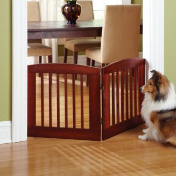 Panel Zig-Zag Dog Gates -  image number 1