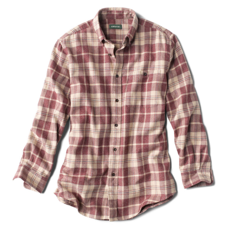 Flannel Exploded Patterns Long-Sleeved Shirt -  image number 0