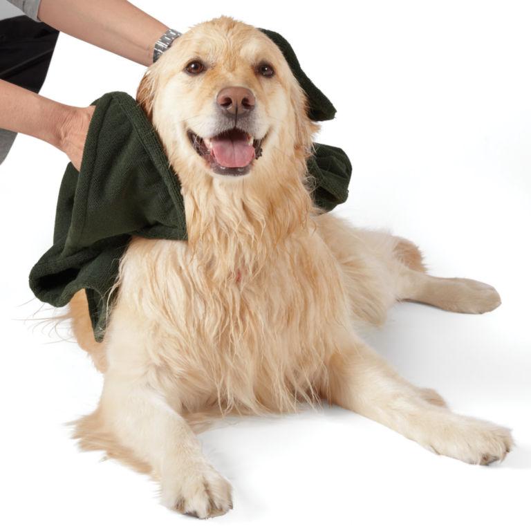 Microfiber Dog-Drying Towel -  image number 1