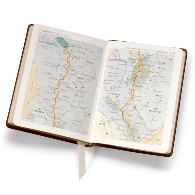 Personalized Leather-Bound Atlas -  image number 5