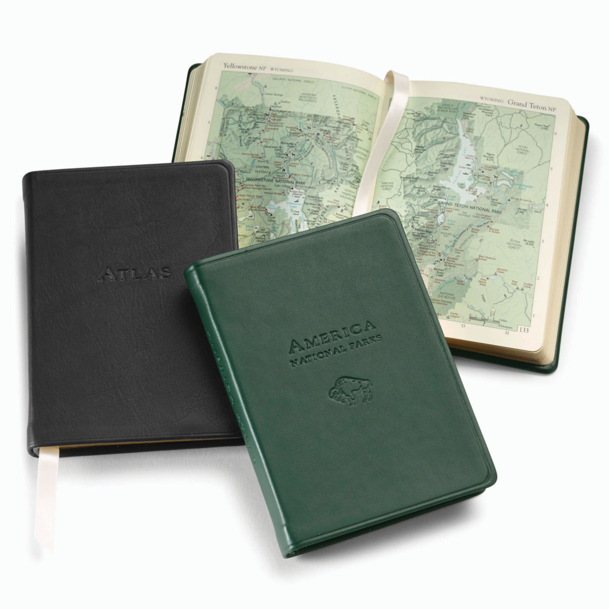 Personalized Leather-Bound Atlas - image number 0
