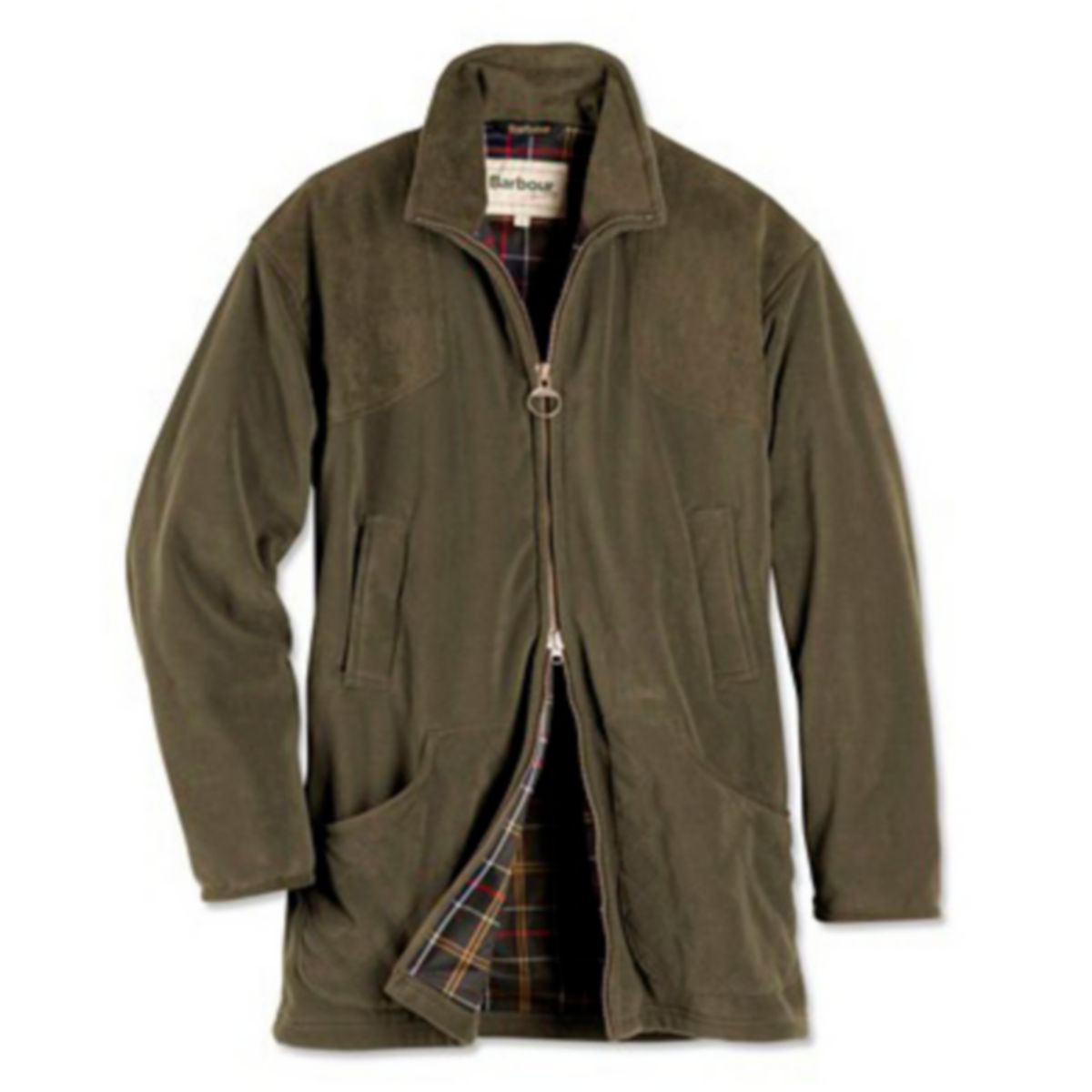 Barbour®  Dunmoor Fleece Jacket - OLIVEimage number 0