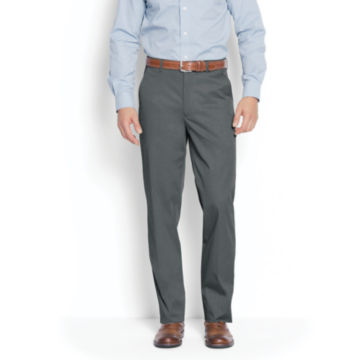 World's Most Comfortable Cotton-Blend Chinos - Plain Front -  image number 0