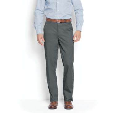 World's Most Comfortable Cotton-Blend Chinos - Plain Front -