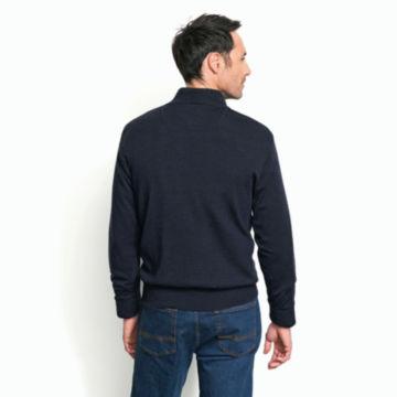 Merino Wool Zipneck Sweater -  image number 3