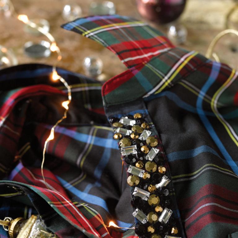 Embellished Trim Wrinkle-Free Tunic -  image number 2