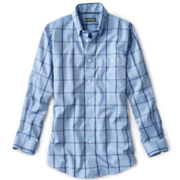 Hidden-Button-Down Wrinkle-Free Cotton Twill Shirt - Regular -  image number 0
