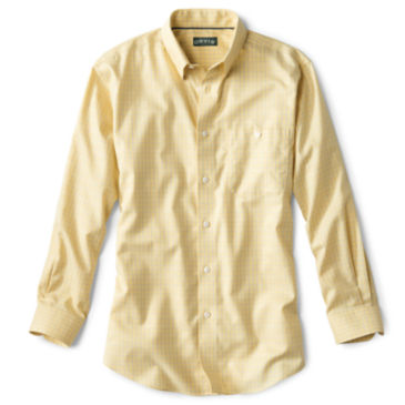 Hidden-Button-Down Wrinkle-Free Cotton Twill Shirt - Regular -